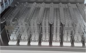 Portoirs de tubes distributeur de paraffine Amitech